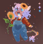 Sunflower Cow - Adopt Auction [Sold]