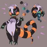 Striped Friend - Halloween Adopt 2 [SOLD]