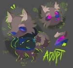 Neon Mutt - Adopt Auction [OPEN]