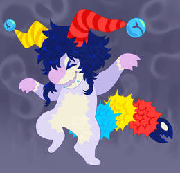 Parasitic Jester - Adopt Auction [OPEN]