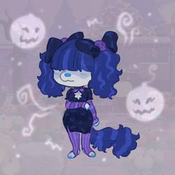 Skulls In Her Hair - Adopt Auction [OPEN]