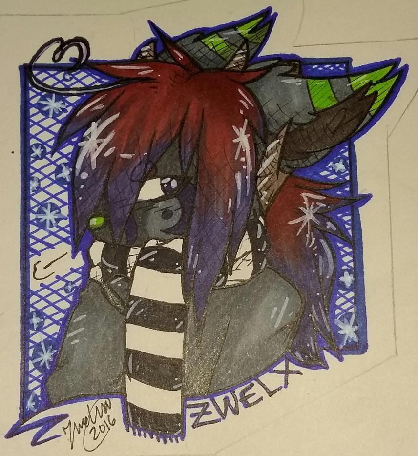 Zwelxia Art Badge by Zwelx