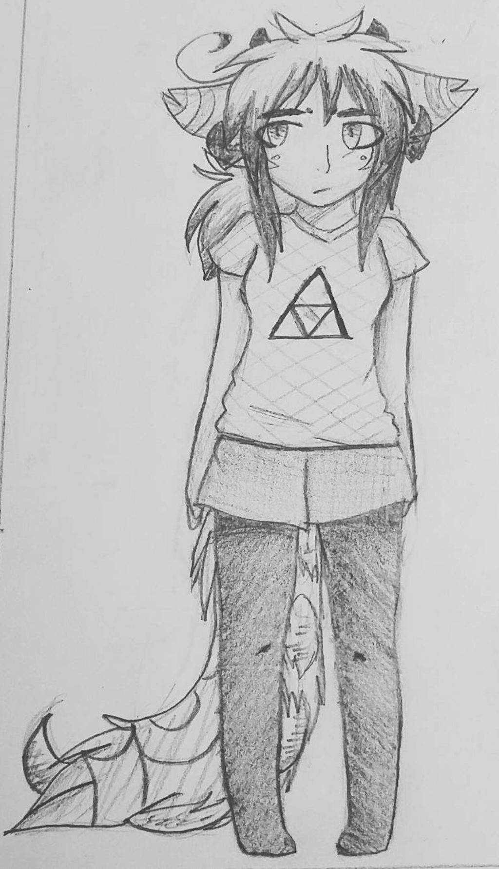 Zwelxia In Casual Clothing by Zwelx