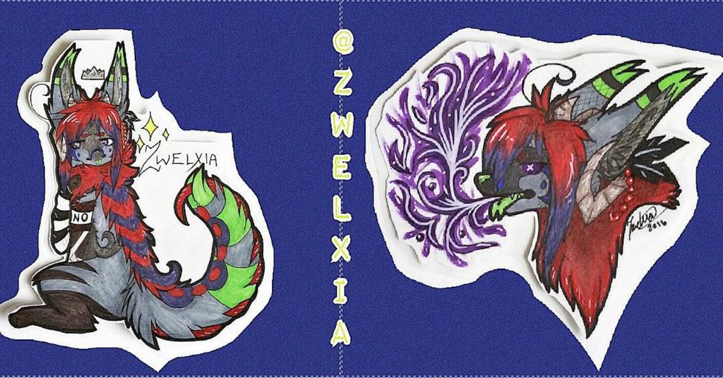 Zwelxia Badges by Zwelx