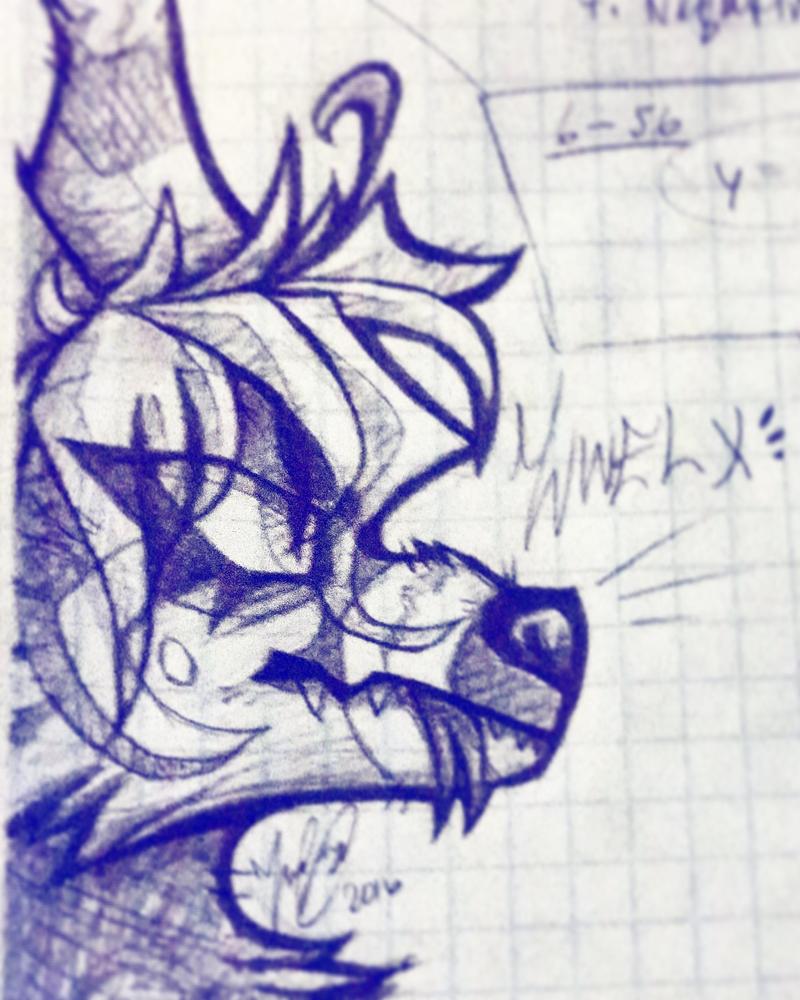 Math doodle by Zwelx