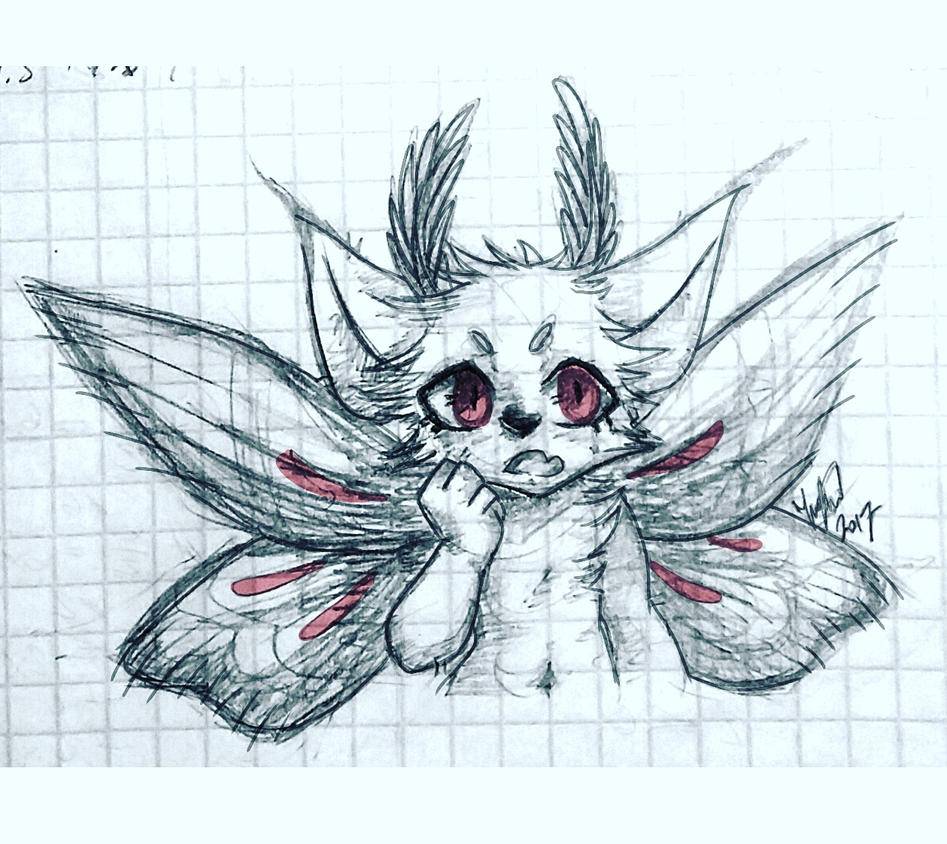 Pretty Moth boi by Zwelx