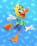 It's Dinky Duck!