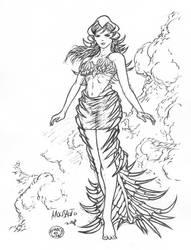 MITHI_GM_inks by comicsbutuan