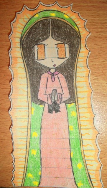 La Virgen de Guadalupe by Cheesefan101 on DeviantArt