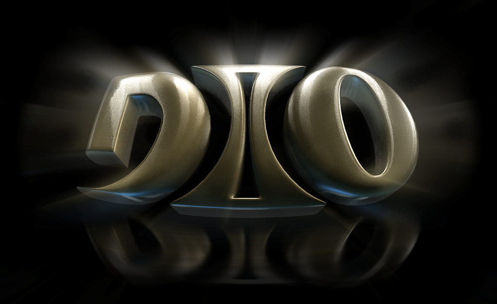 Dio gold logo by Dionicio