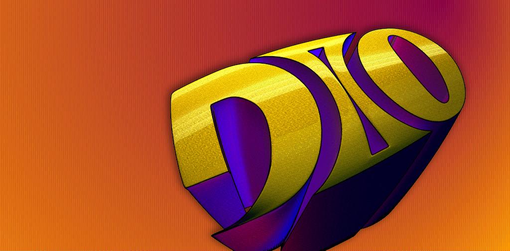 Dio comic logo by Dionicio