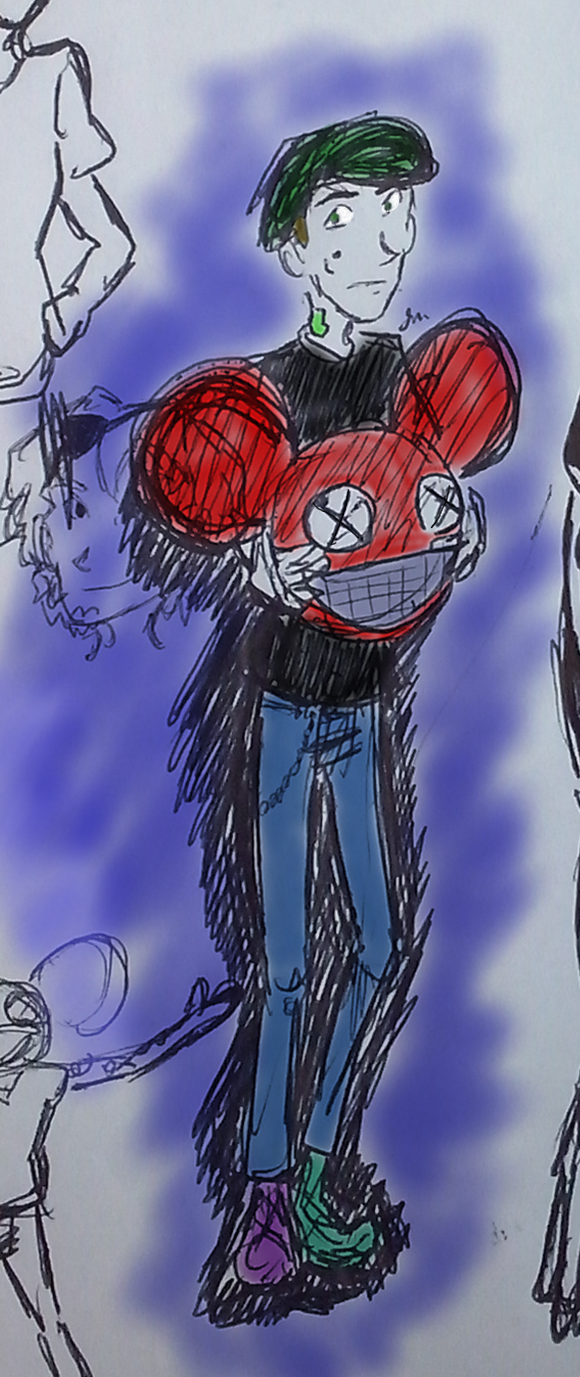 Joel Zimmerman - Doodle by JessiBellEvans