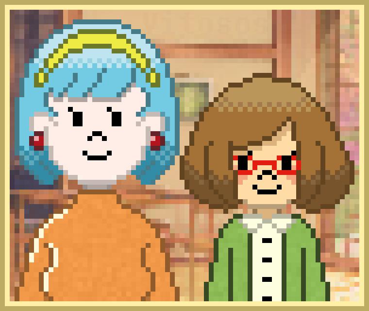 Amelia and Nikki by vitosos