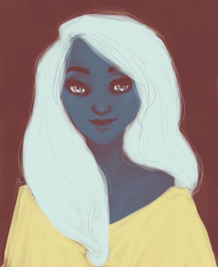 Portrait by kelliebeta