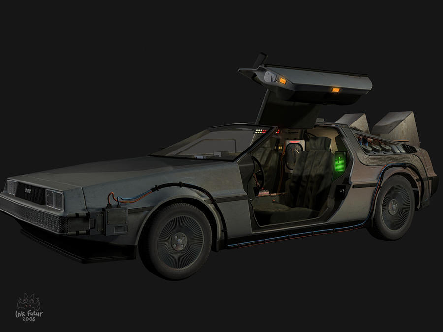 De Lorean DMC-12 by Gekkogwn