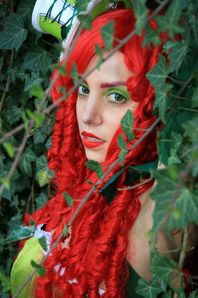 Poison Ivy - Alternate Steampunk Version by Nikoschka