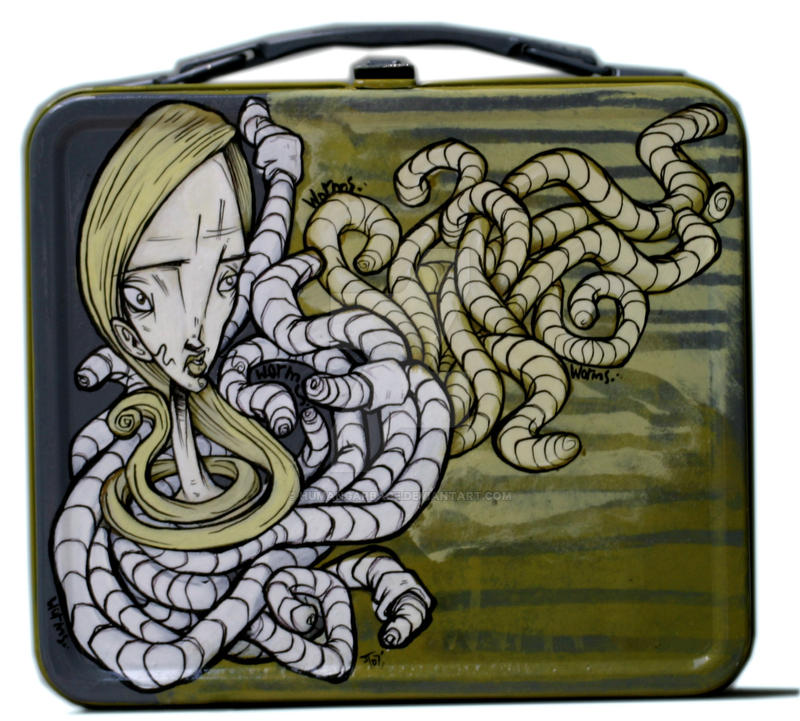 WORMS Lunchbox by humangarbage