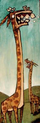 Angry Giraffes