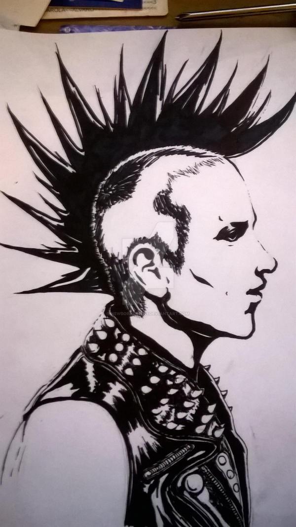 punk rock guy by newborndeath on DeviantArt