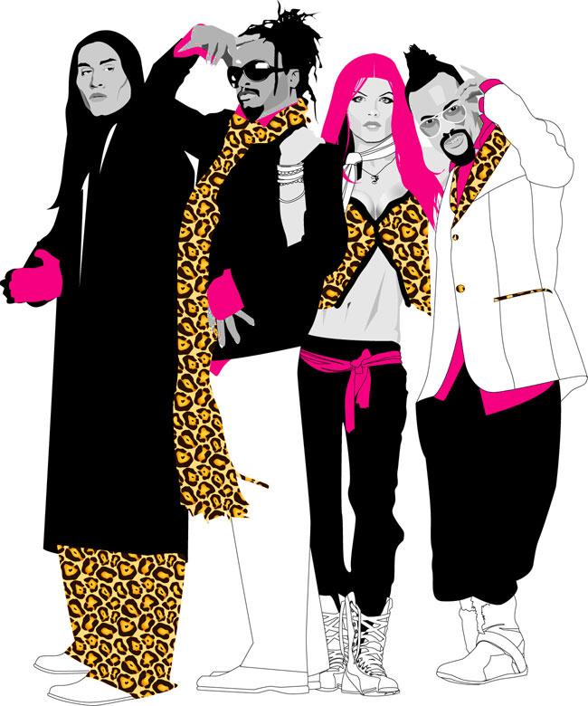 Black Eyed Peas by LexxyPie