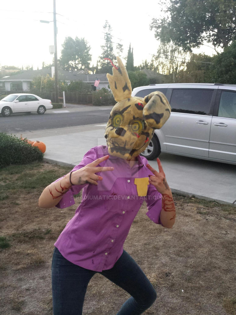 springtrap halloween costume by radiumatic