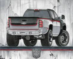 Chevy Silverado 3500 - Rear