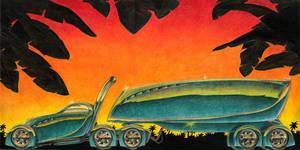 Alien Semi Truck