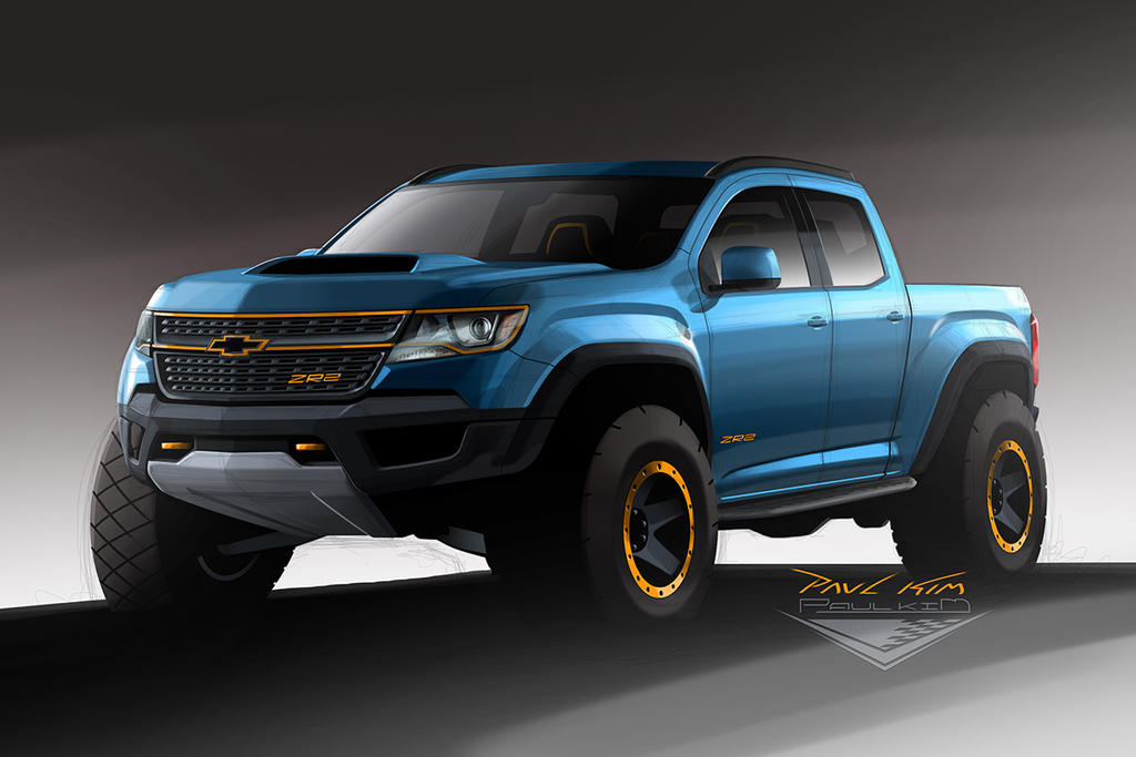 Chevrolet Colorado Zr2 Concept Design 001 By Seawolfpaul