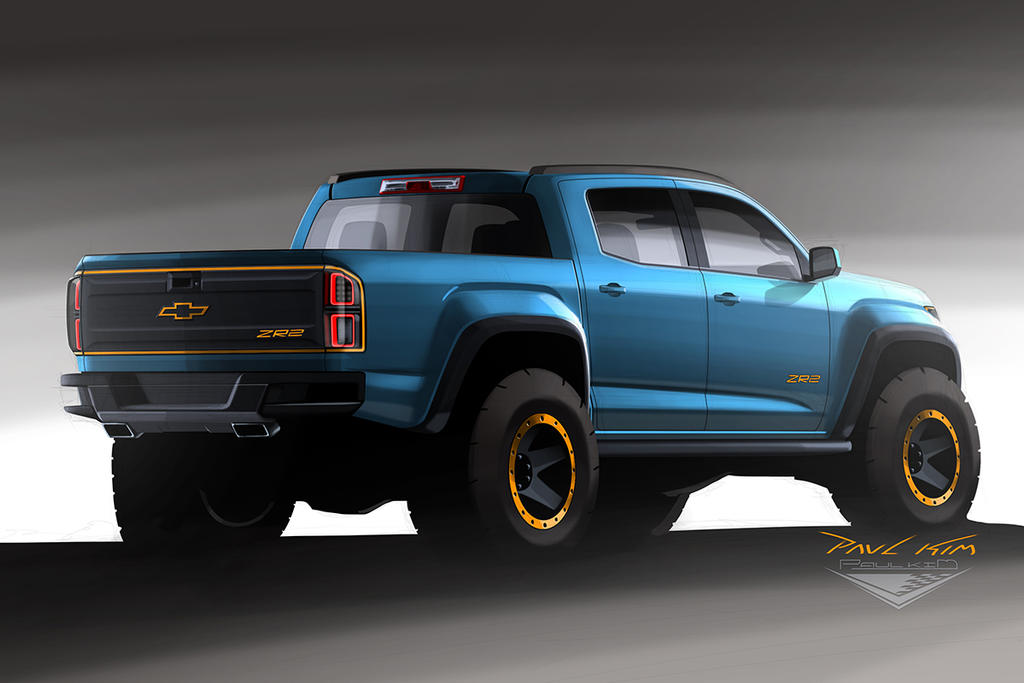 Chevrolet Colorado ZR2 Concept Design 002 by SeawolfPaul on DeviantArt