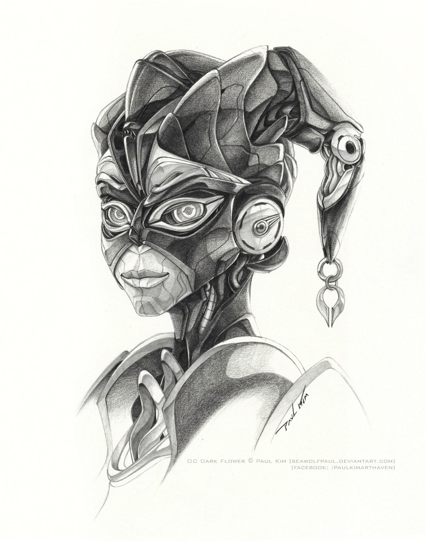 OC Dark Flower - Cybertronian Past