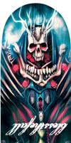 Blessthefall Bones Crew Skatedeck