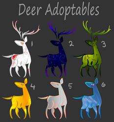 Deer Adoptables - promo batch
