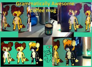Grammatically Awesome COFFEE MUG!  :D