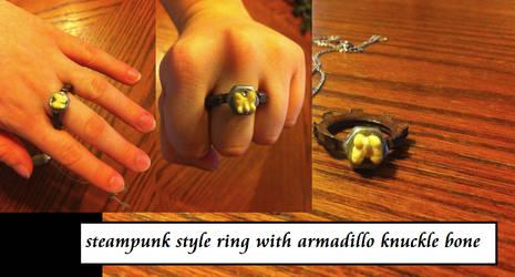 Steampunk Bone Ring