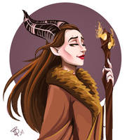 Maleficent by BrookeHendrick