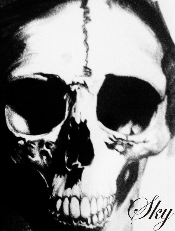 big skull by DarkSky666
