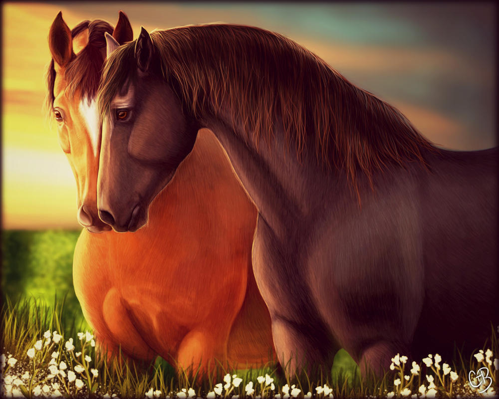 New Happiness~ War Horse- Topthorn + Joey by ChellytheBean