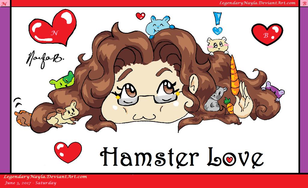 Hamster Love by LegendaryNayla