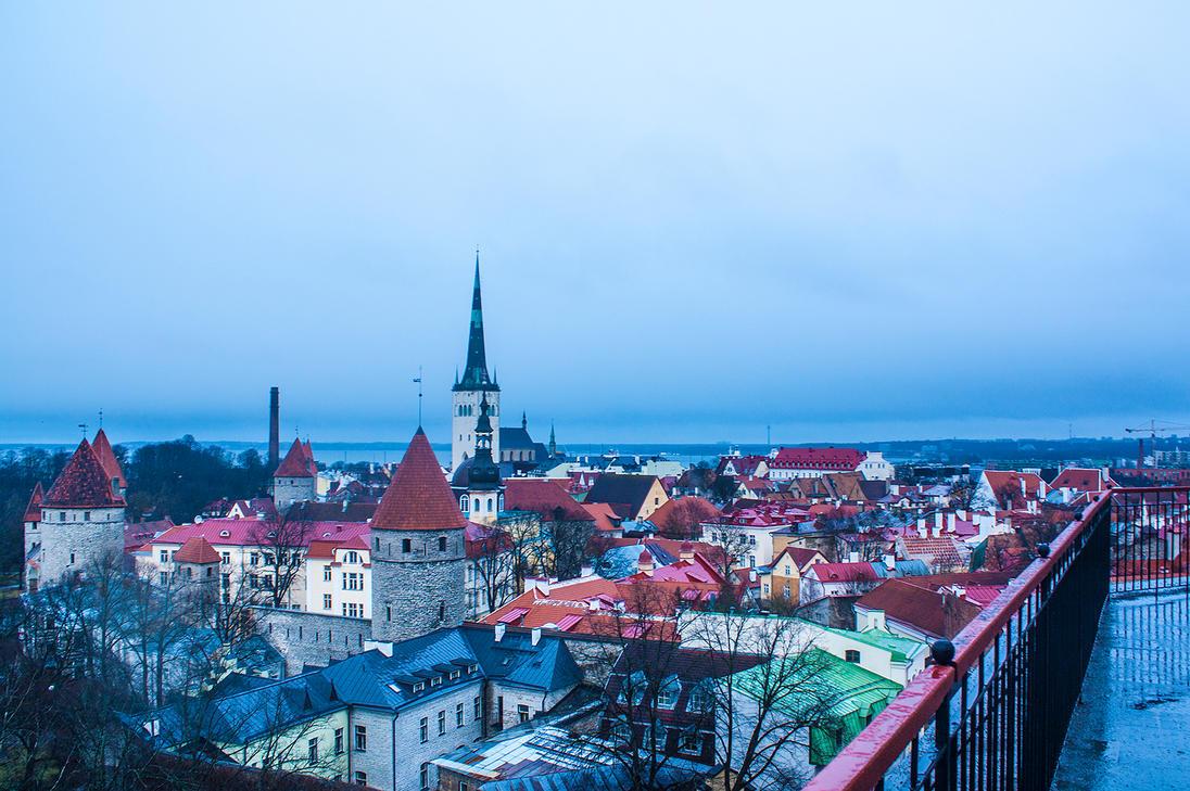 Tallinn Winter by aleszev