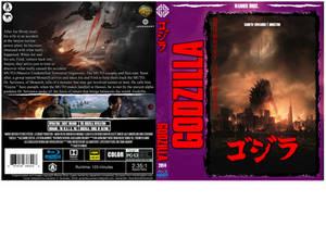 2014 - GODZILLA custom cover vR