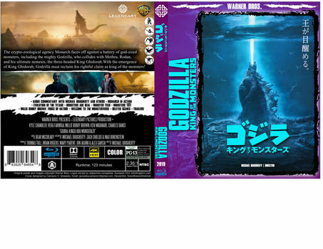 2019 - Godzilla - King of the Monsters cover vR