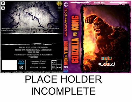 2020 - Godzilla vs Kong vR proto-cover