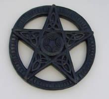 Wooden Pentagram - Stock by sabbat-circle
