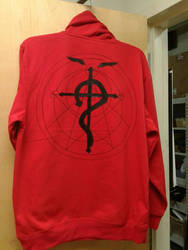 fma hoodie back by ldydestiny