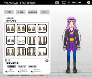 Kiara Lynne (Pokemon Trainer) by SkyStar54