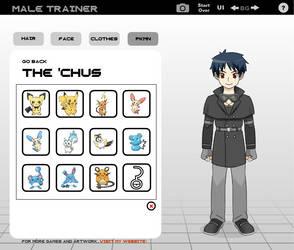 Kovus 'Kovu' Taka (Pokemon Trainer) by SkyStar54