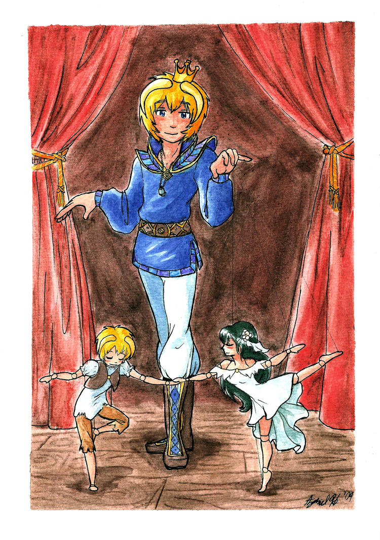 The Marionette Show by Zil-Zeki