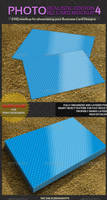 Photorealistic Business Card Mockup - 4 by MockupMania