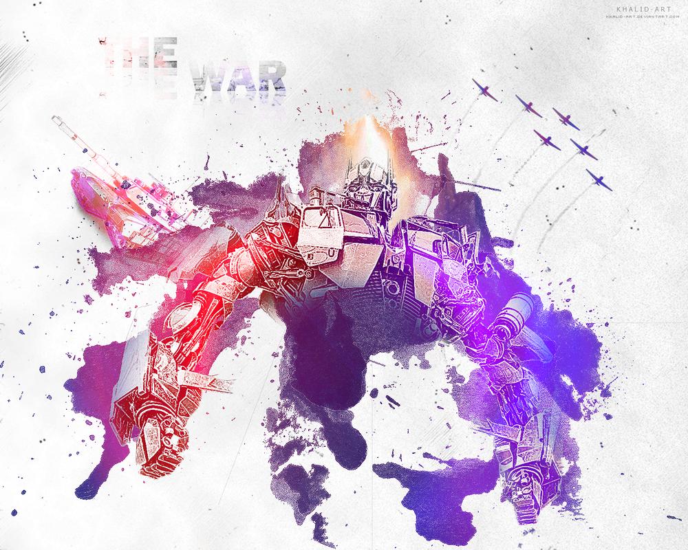 The War by KHALID-ART