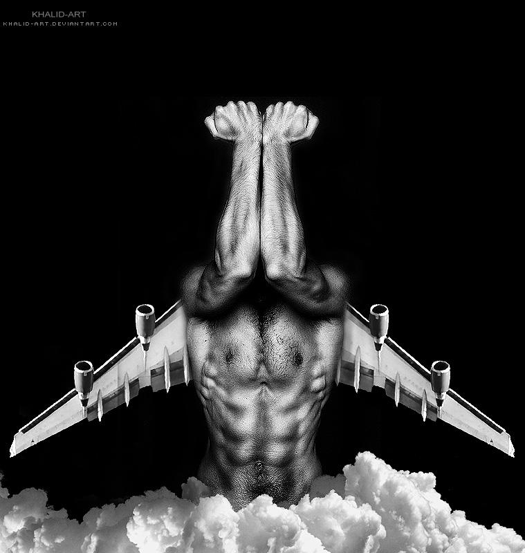 Raise Me Up . .. by KHALID-ART